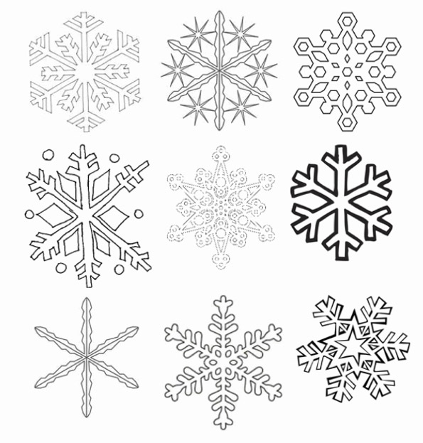 Снежинки к новому году 2016 своими руками фото поэтапно